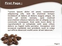 Chocolate Sweets Second PPT Background
