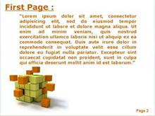 Orange cubic disaggregation Second PPT Background