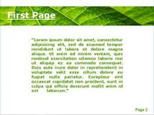Fern Leaf Second PPT Background