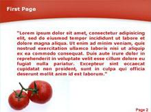 Two big Tomatoes Second PPT Background