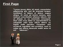 Happy Mariage Second PPT Background