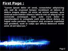 Electric Field Second PPT Background