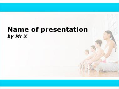 yoga powerpoint templates, Presentation templates