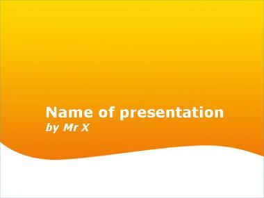 Miami Sunset Powerpoint Template image