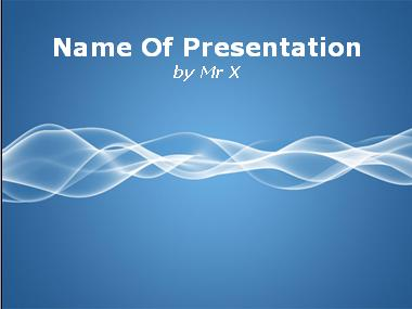 Twisting Shining Curve Background Powerpoint Template