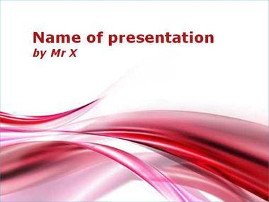 Abstract Pikes Powerpoint Template image