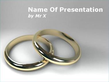 Engagement Rings Powerpoint Template image