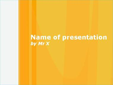 Orange Juice Powerpoint Template image