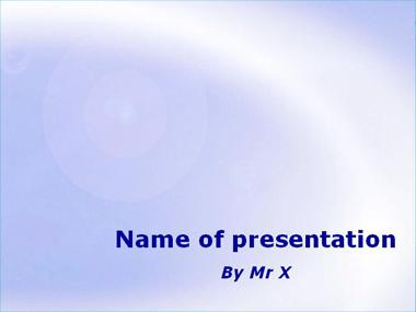 Light Blue Sky Powerpoint Template image