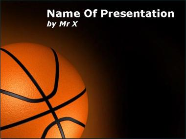 Basket Ball Powerpoint Template image
