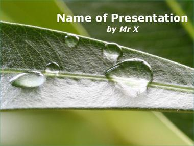 Inspiration Rain Powerpoint Template image