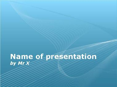 Blue abstract background Powerpoint Template image