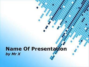 Multi Cubes Powerpoint Template image