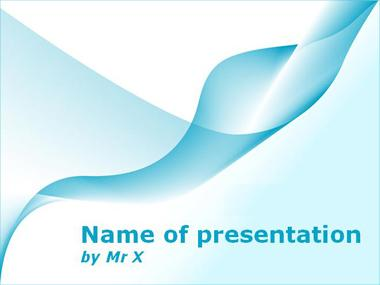 Twisted Flame Powerpoint Template image