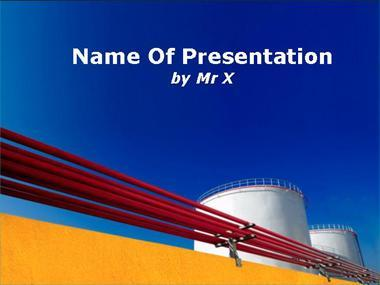 Petroleum Pipelines Powerpoint Template image
