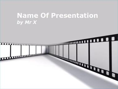 Cinema Frame Powerpoint Template image