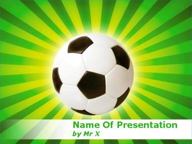 Football in Brazil Powerpoint Template image