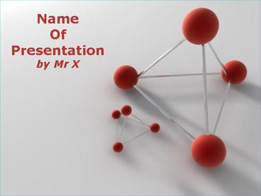 Atom and Molecules Powerpoint Template image