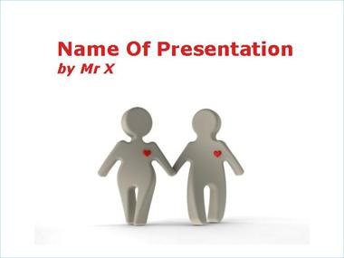 True Love Powerpoint Template image