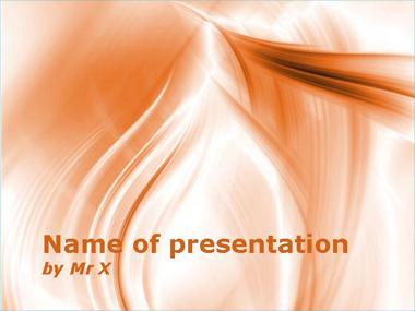 Orange Shades Powerpoint Template image