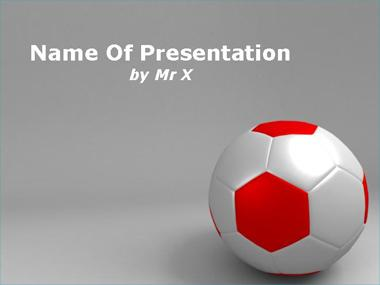 Soccer Ball Powerpoint Template image
