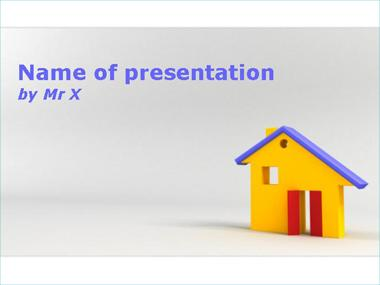 The Playmobil House Powerpoint Template image