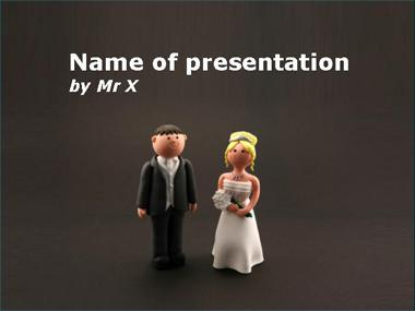 Happy Mariage Powerpoint Template image