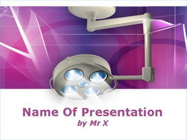 Surgery Light Powerpoint Template image