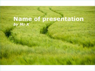A green field powerpoint template toneelgroepblik Image collections