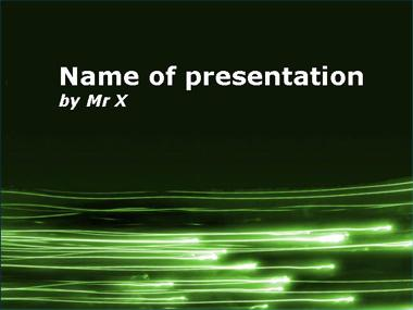 Ray of Nature Powerpoint Template image