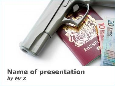 Crime Pays Powerpoint Template image