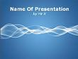 Twisting Shining Curve Background Powerpoint Presentation Template