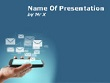 Smartphone and mobile applications Powerpoint Template