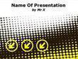 Yellow Arrows Powerpoint Template