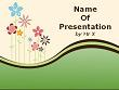 Colorful Floral Landcape Powerpoint Presentation Template
