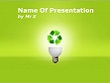Ecology and recycling Powerpoint Presentation Template